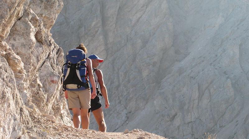 Maximilian Klettersteig : Maximilian klettersteig vom tierser alpl über den roßzahn und